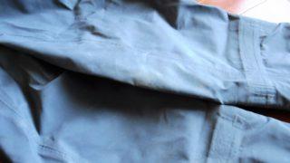 年末恒例?ウェーダーの洗濯と、来シーズンに向けてグラベル・ガードを追加しておくこと。
